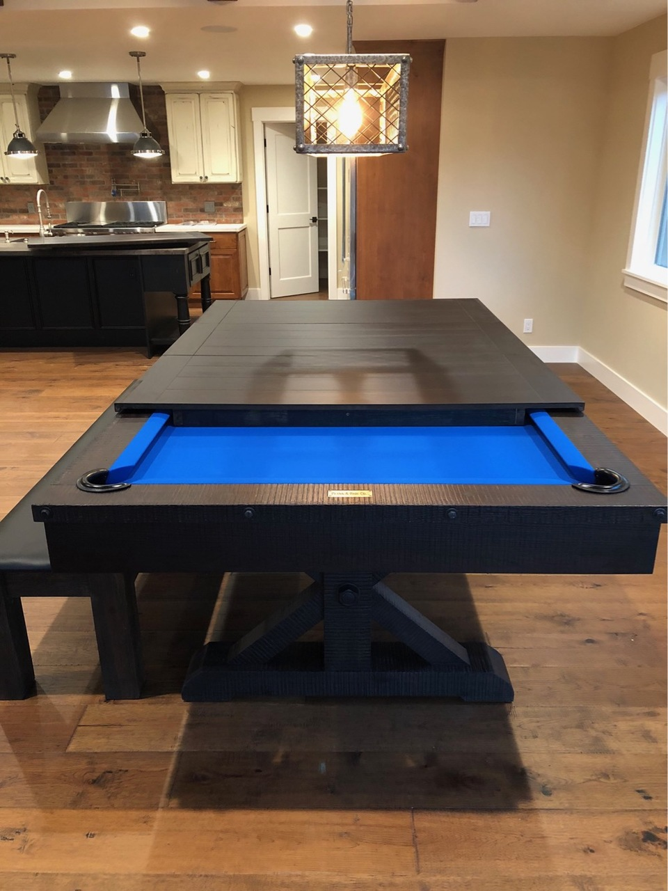 Otis Pool Table with Dining Top Option White Glove