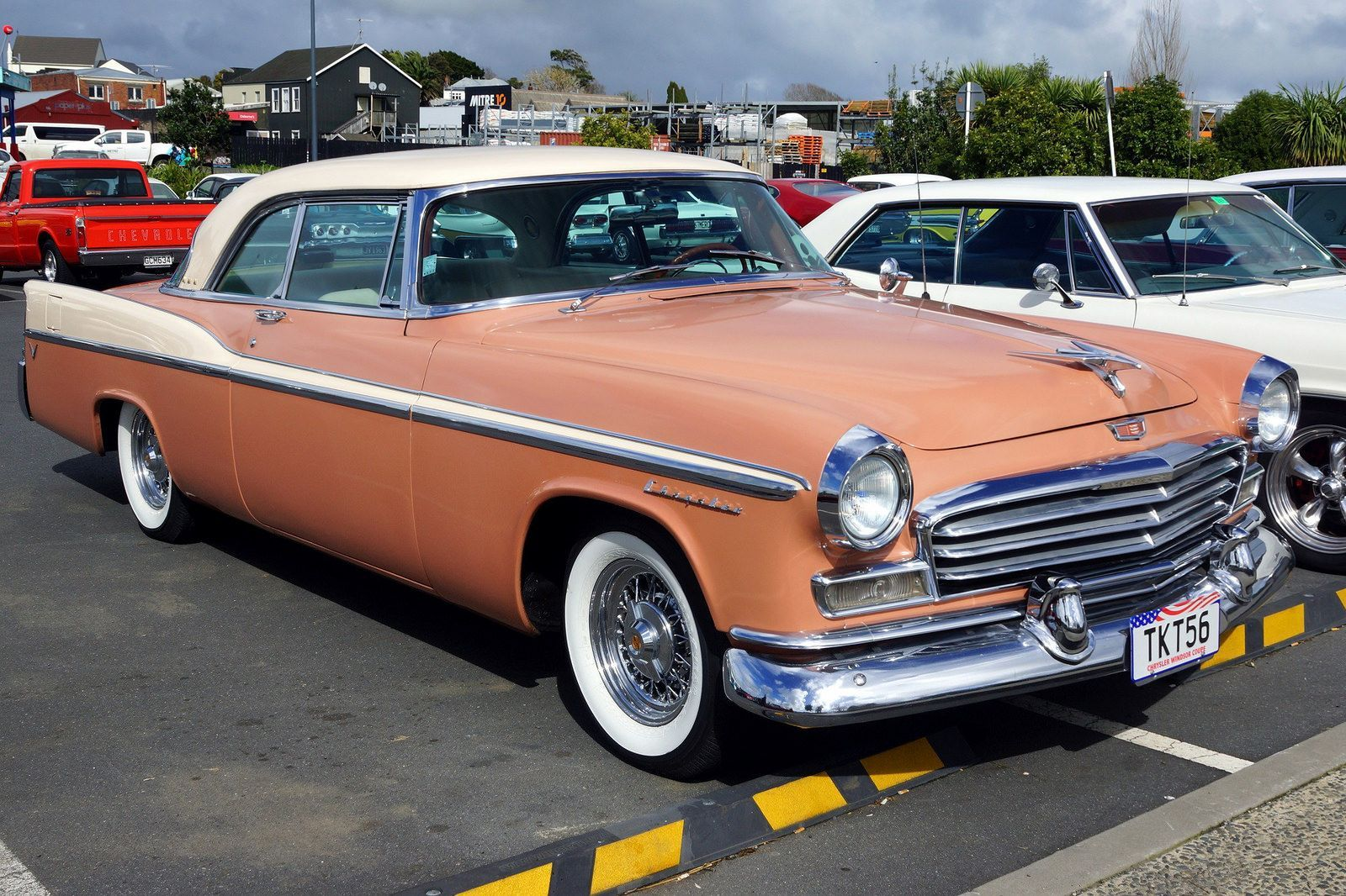 1956 Chrysler Windsor Coupe | Dodge charger, Cars and Vintage ...