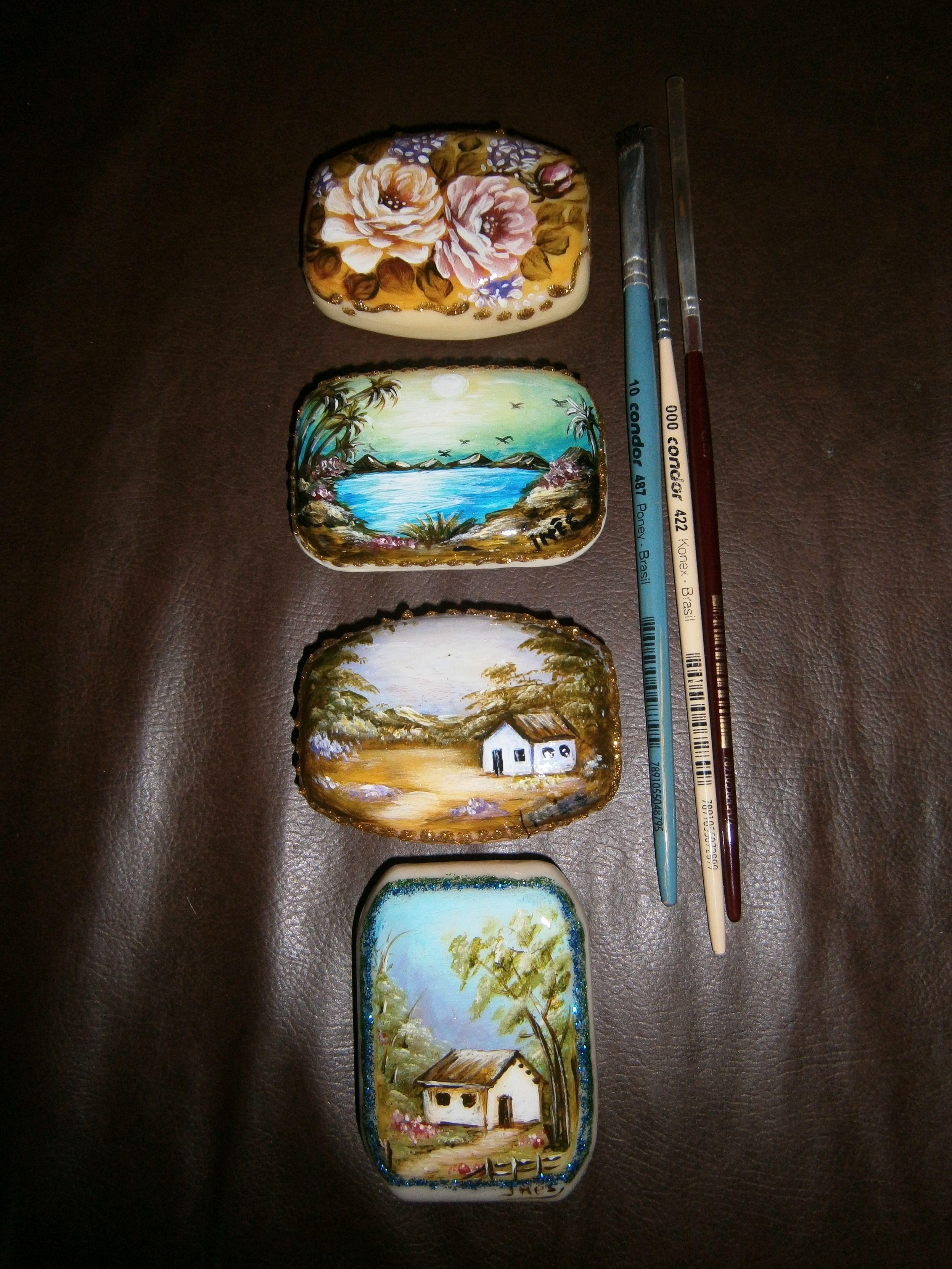 Pinturas en jabon
