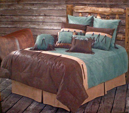 Best Western Bedding Tooled Turquoise San Juan Queen H H 400 x 300