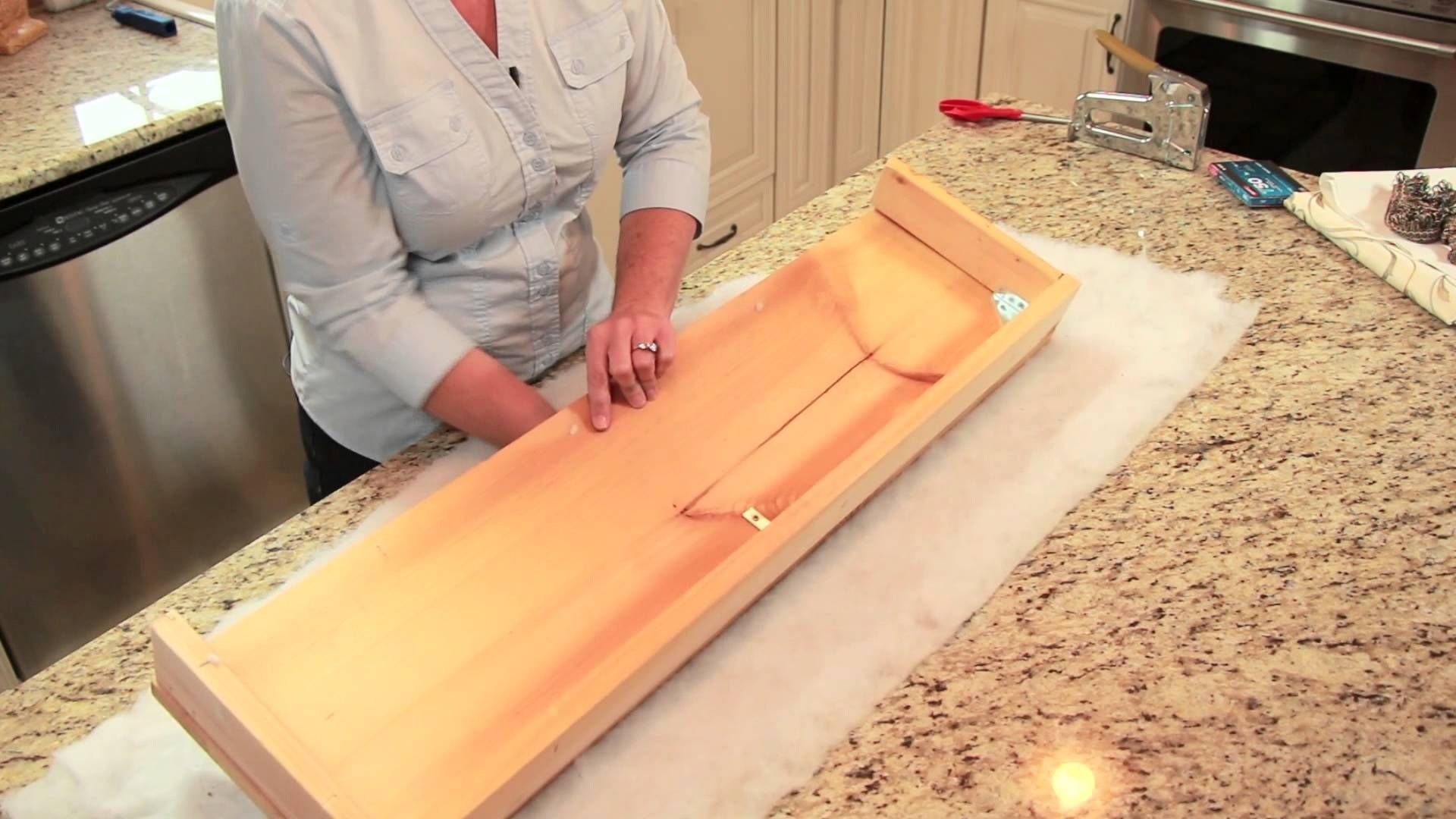 How to cover a cornice board diy home decor tips small