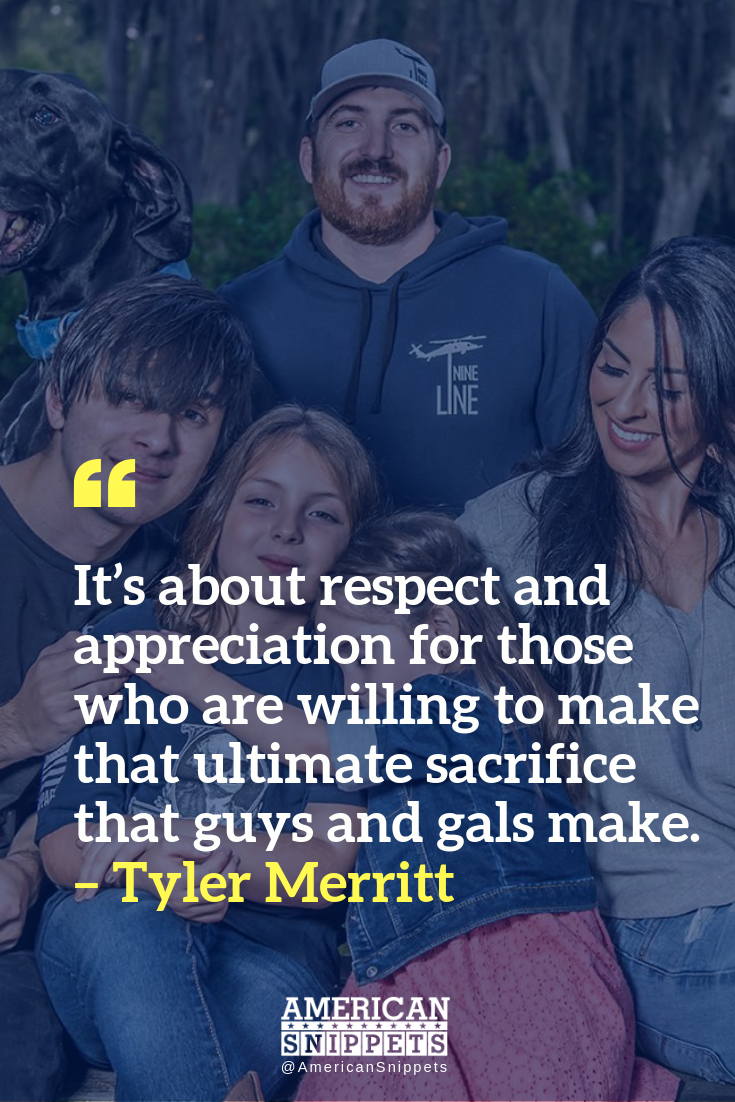 Just Stand with Tyler Merritt and Nine Line Apparel