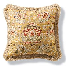 Ransom Sunshine Outdoor Pillow With Fringe For The Home