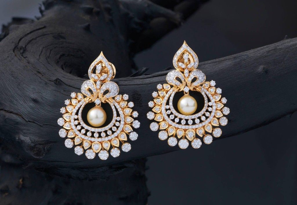 The Exclusive Earrings | Diamond, Girls and Indian jewelry