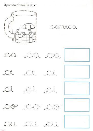 Atividades da tia | Alfabetização | Pinterest