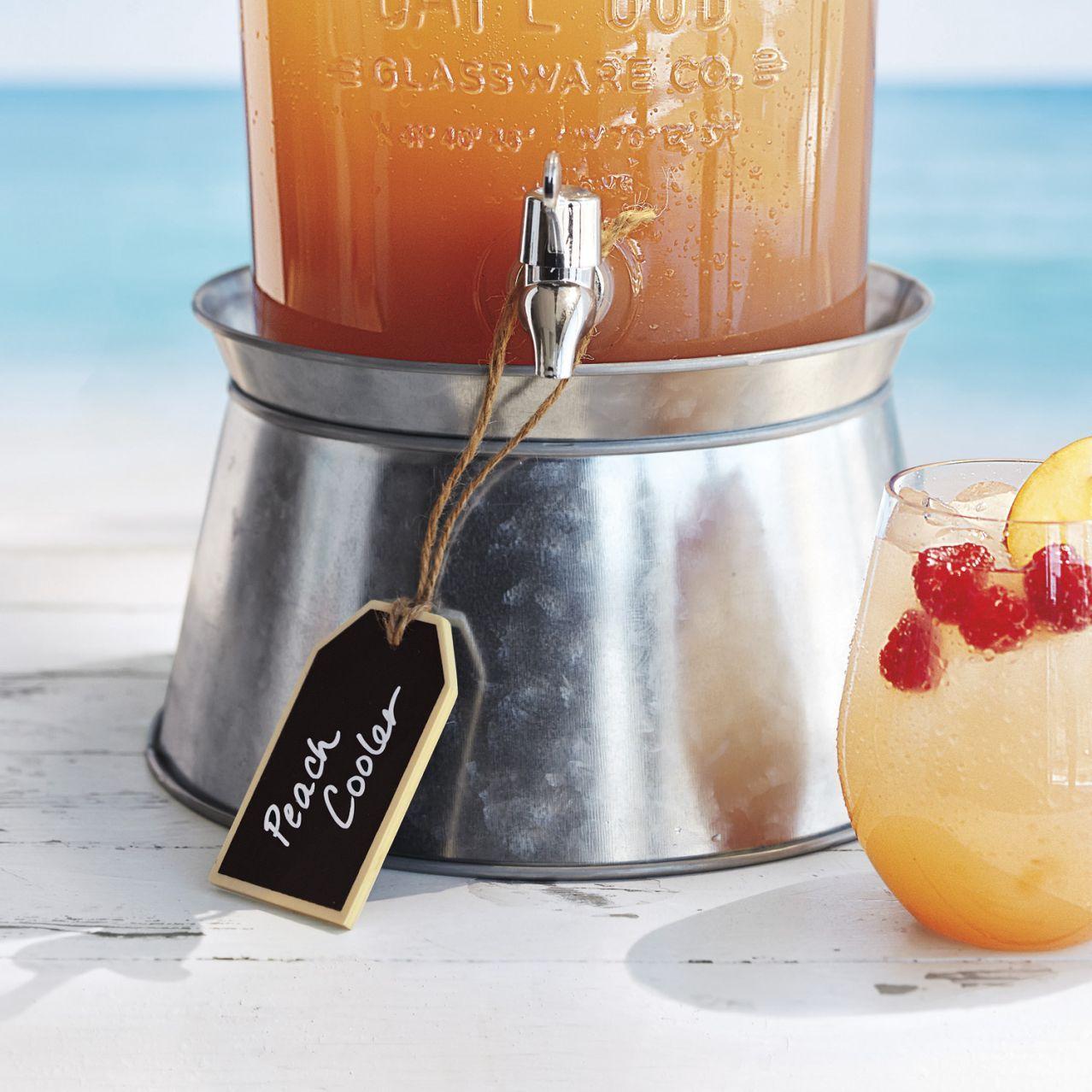 Beautiful Sur La Table® Galvanized Beverage Jar Stand | Sur La Table