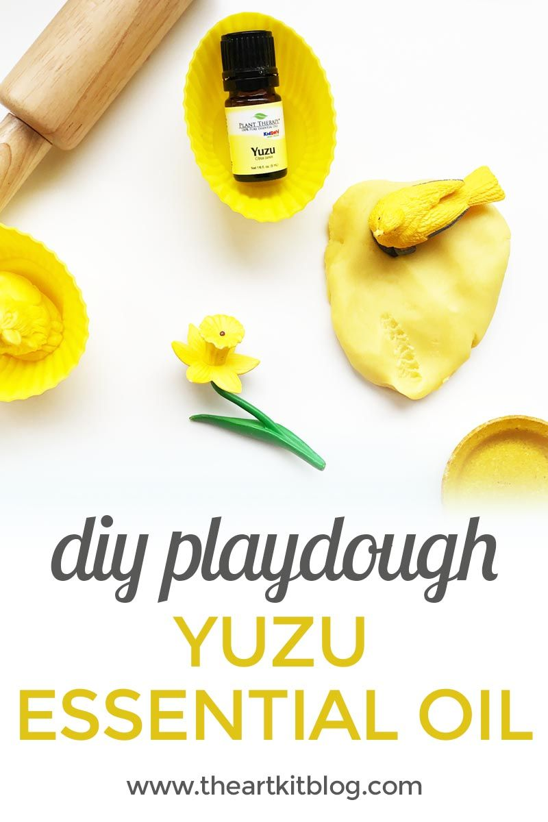 How to Make Playdough with Yuzu Essential Oil Today we're sharing our latest playdough recipe made using essential oils. You know we love our playdough and this batch