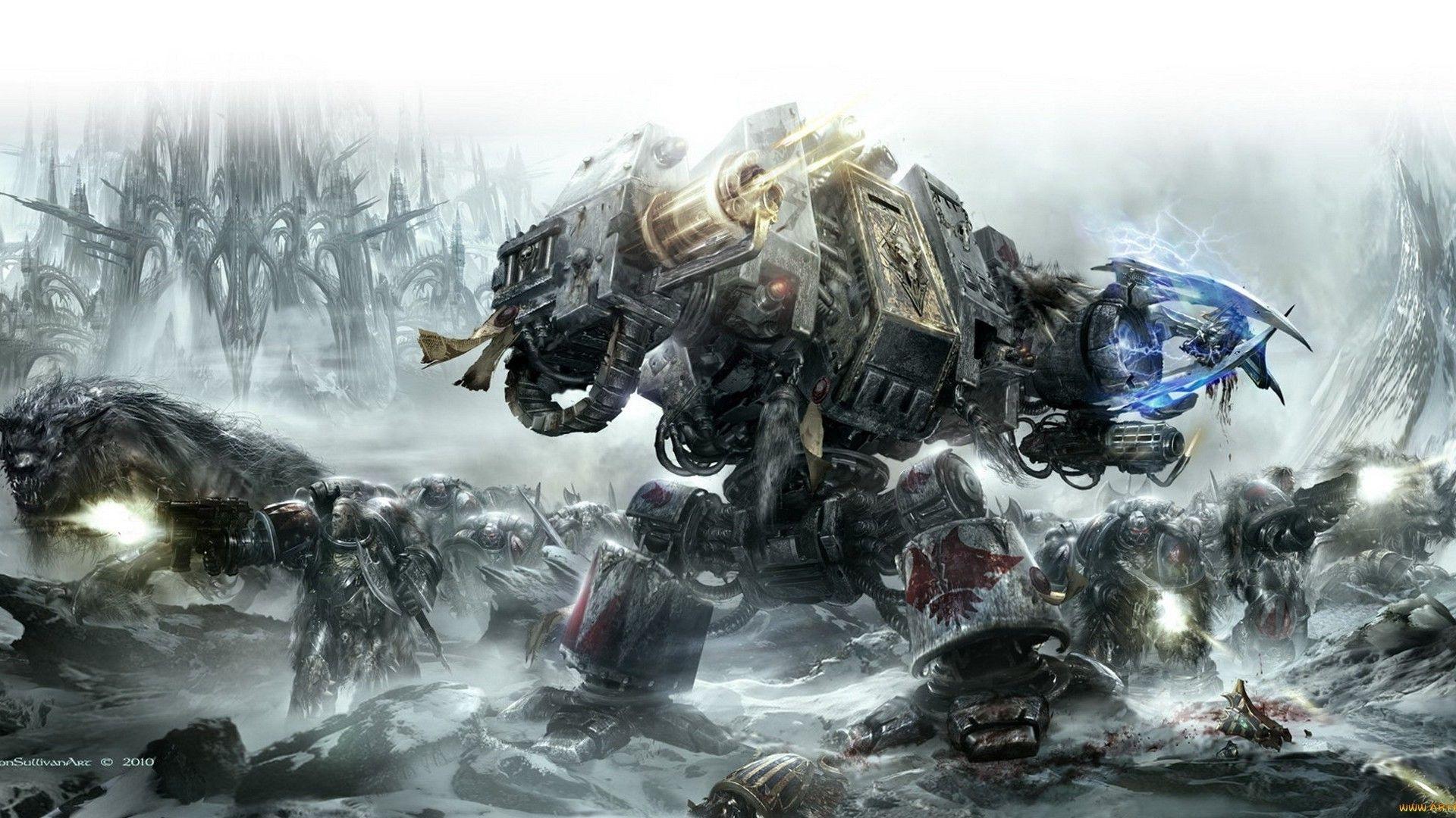 40k Art C1009 Warhammer 40k Space Wolves Warhammer Warhammer 40k [ 1080 x 1920 Pixel ]