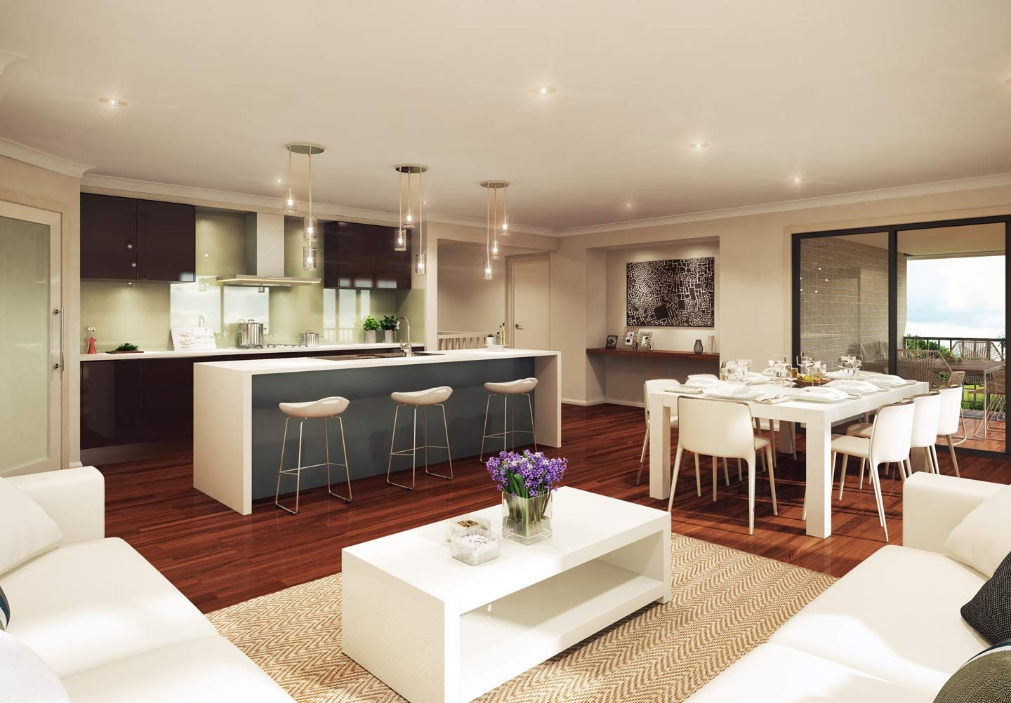 The Horizon   Sloping Block   Split Level Home | McDonald Jones Homes ·  Contemporary Kitchen DesignKitchen ...