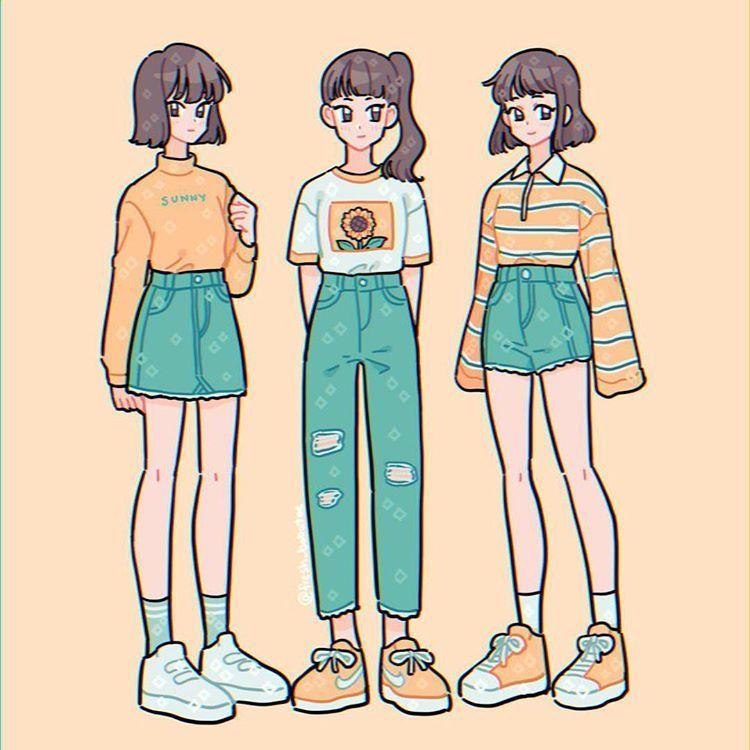 Anime clothes outfits simple animelife animecouple