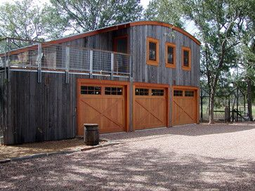 Eclectic Garage Addition With Custom Wood Doors Prefab Garage With Apartment Garage House Plans Garage Apartments