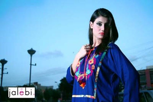 Jalebi Eid Collection Fashion Dresses 2014 for Girls (11)