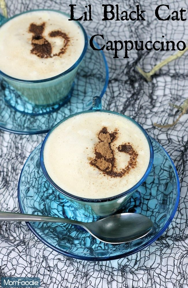 Lil Black Cat Cappuccino Easy DIY Latte Art with KCups