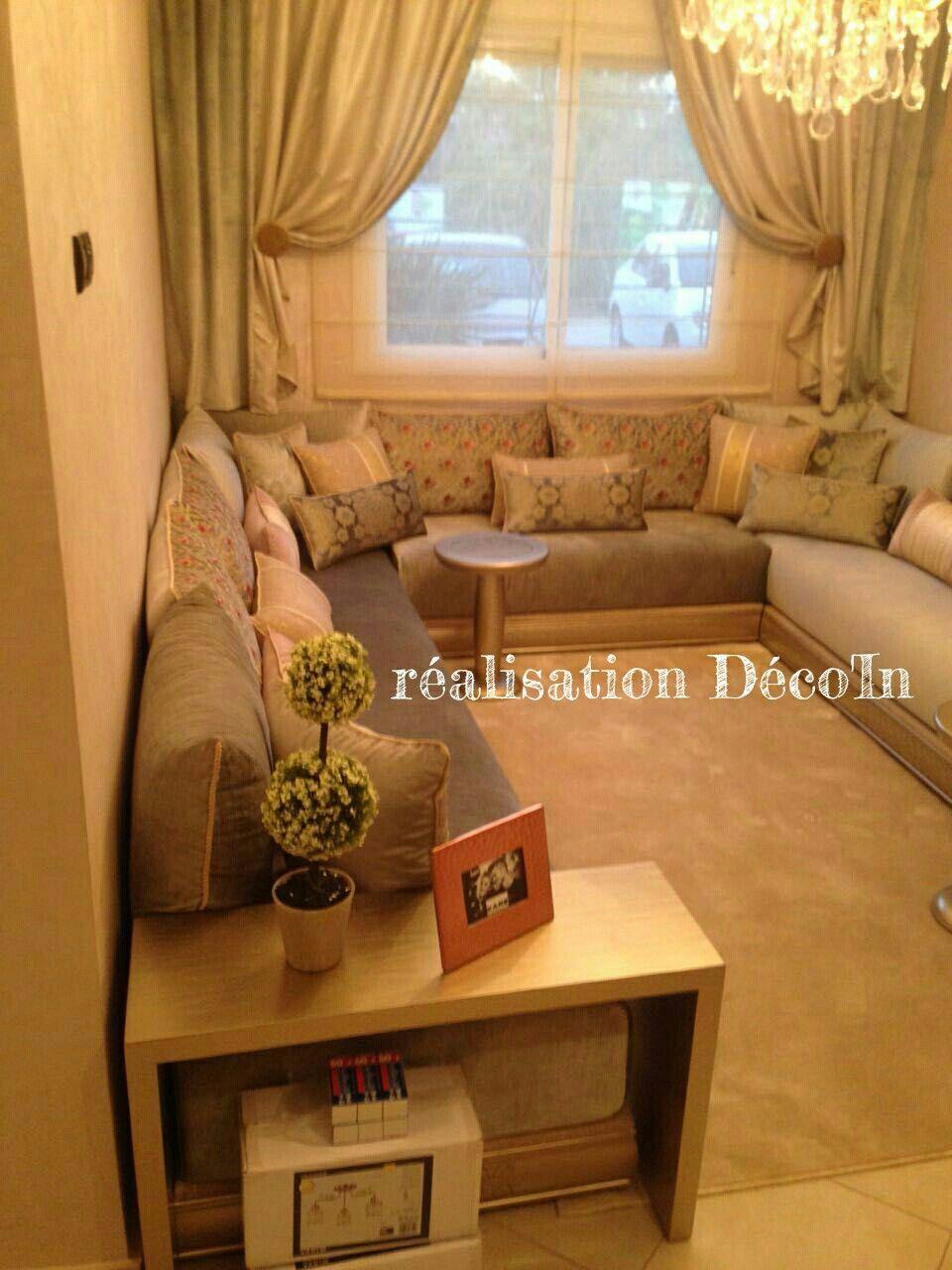 Salon marocain Appartement temoin Bassatine bousekoura | salon ...