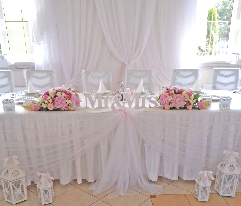 Wystrój Sali Weselnej W Pastelach ślubne Inspiracje ślub