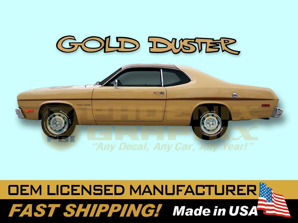 Details about 1970 1971 1972 1973 1974 1975 Plymouth Gold
