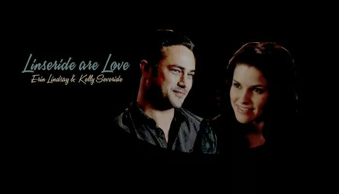 Kelly Severide and Erin Lindsey