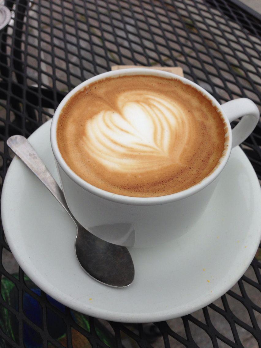 Cappuccino At Cafe Brio Arcata California Coloreats Coloreats Cafe Cappuccino Arcata