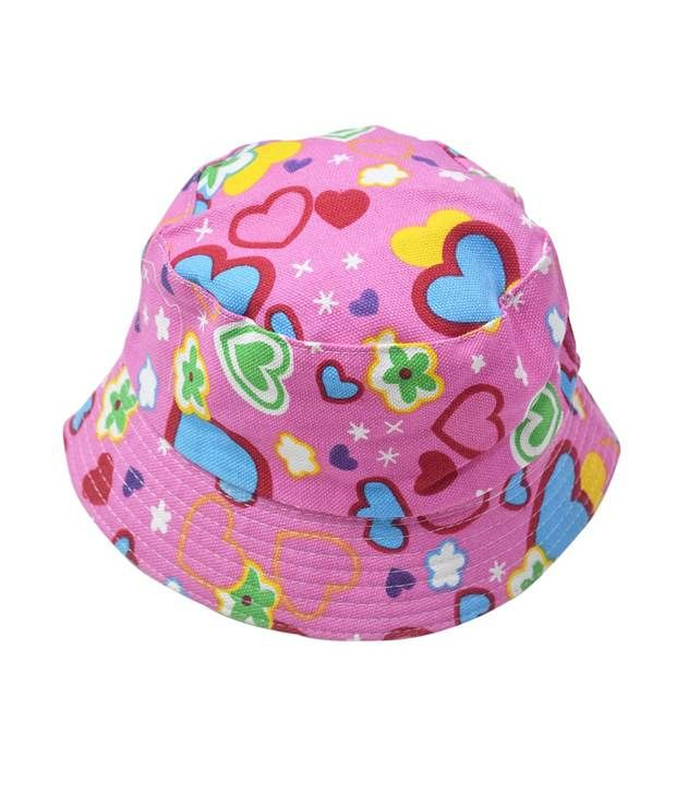 2ca3538047b3a Cute Printed Kids Sun Bucket Hat - Designer Baby Summer Hat ...