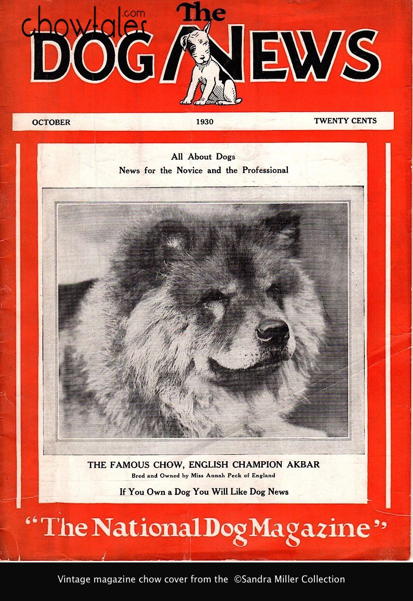 GALLERY – Magazine Covers featuring Chows http://chowtales.com