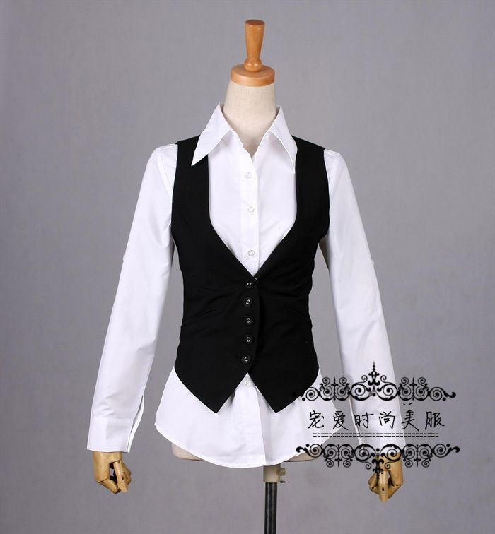 Women Vest Spring And Summer Women S Fashion Slim Suit Small Vest