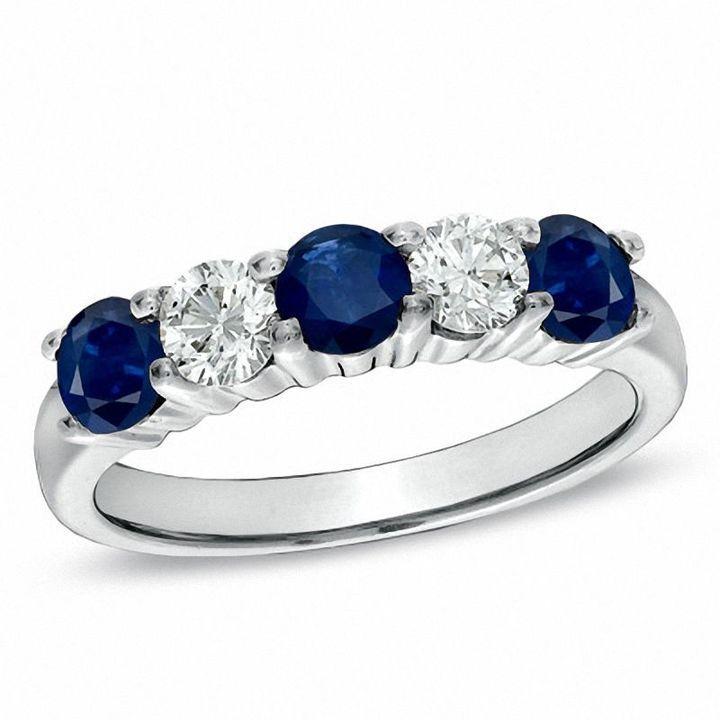 50+ Sapphire wedding bands zales ideas in 2021