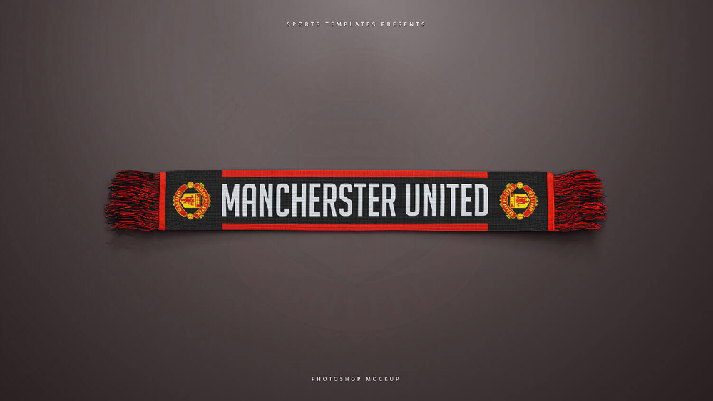 Download Football Sports Scarf Mockup Pack Sports Templates In 2021 Sports Templates Mockup Templates