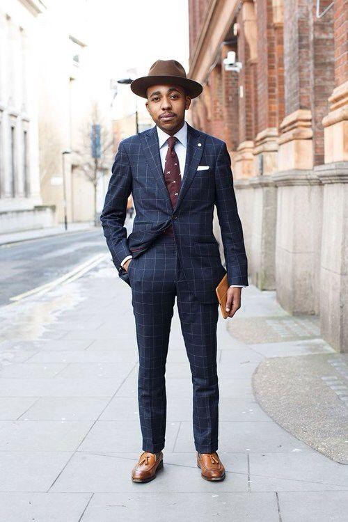 Nigel Ruwende. Hackett suit. Lock   Co fedora.  c06dcd602ca