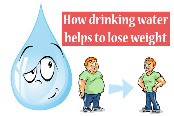 Water to Reduce Weight