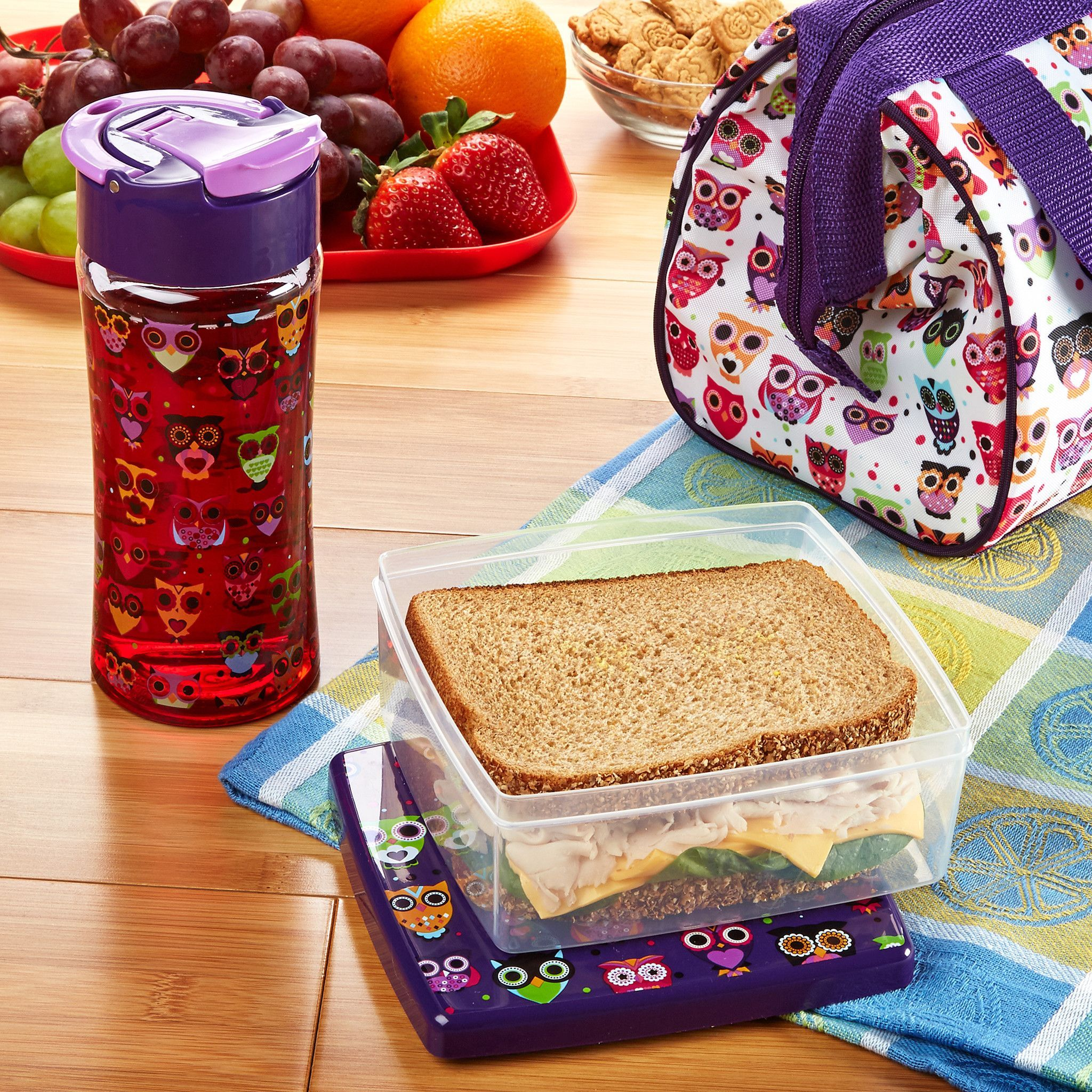 Matching Kids Lunch Sets Are Perfect For Ng Healthy