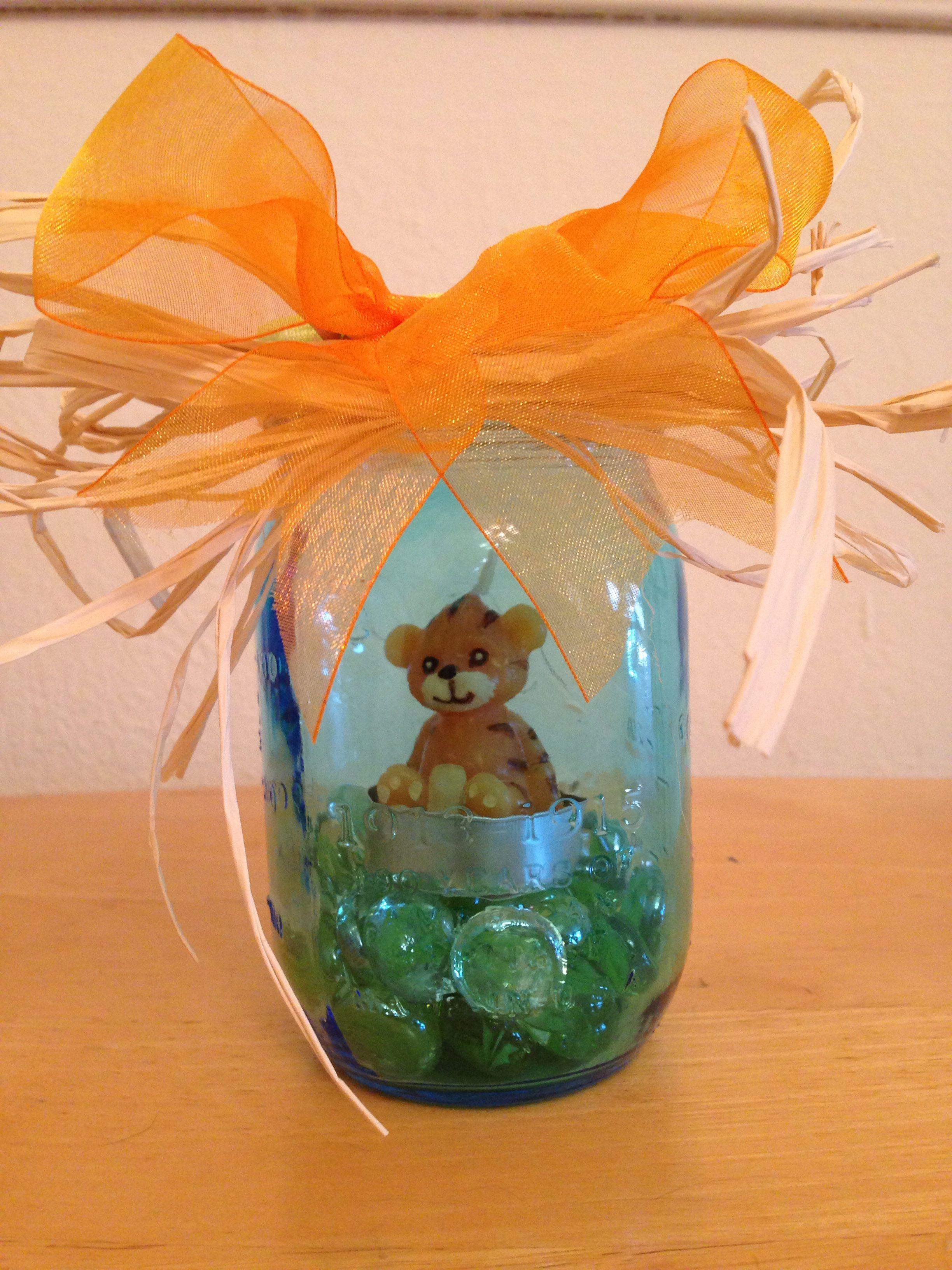 baby shower ideas balloon baby baby shower centerpieces mason jar