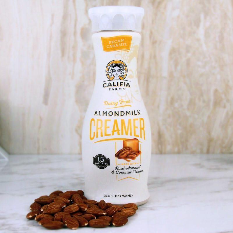 Califia farms creamer pecan caramel almondmilk 25oz