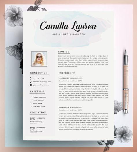 descargar plantilla curriculum vitae creativo  plantilla cv  instante  editable en ms word y