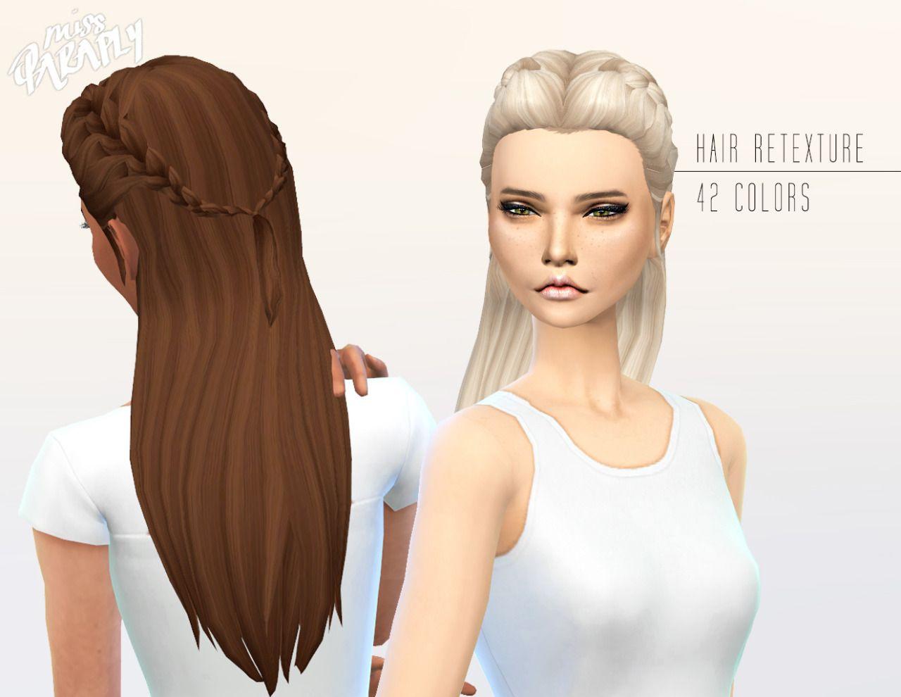 The sims 4 hairstyles cc - Miss Paraply Kiara 24 Absolution Hairstyle Sims 4 Hairs Http The Simssims Ccsims