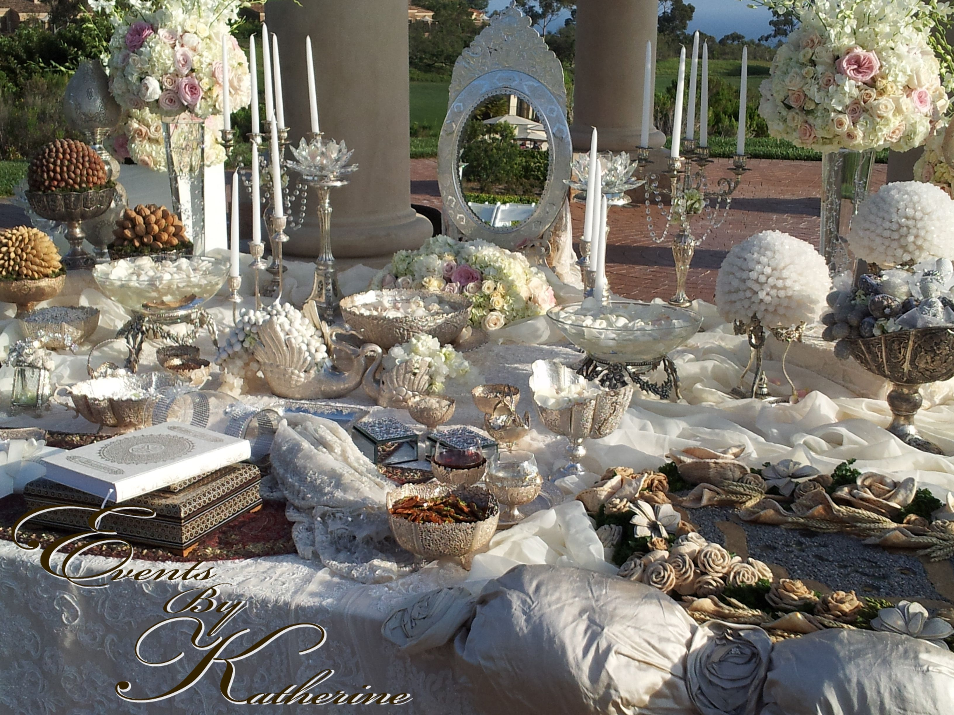 Gorgeous Wedding Ceremonies: Gorgeous Sofreh Aghd For A Persian Wedding Ceremony