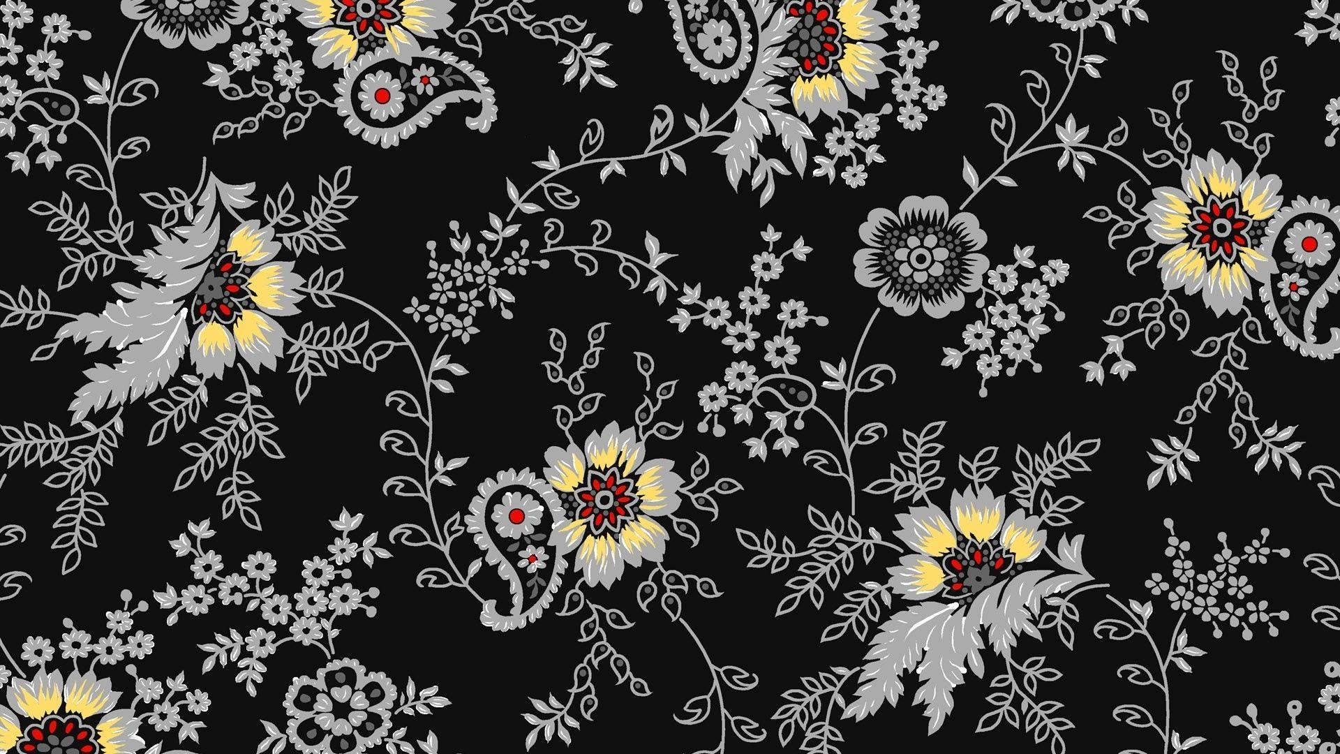 Black And White Pattern HD desktop wallpaper High