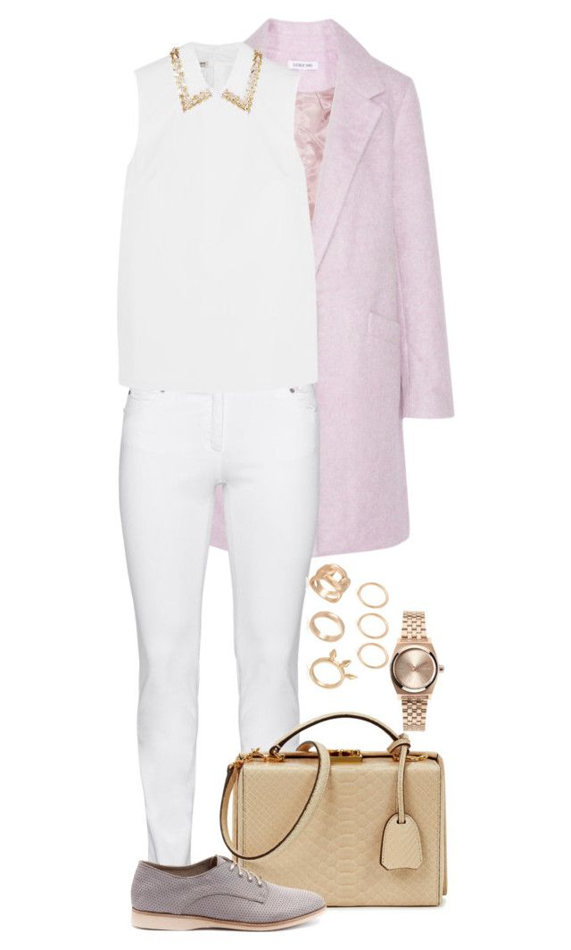 """Lilac Wonderlust"" by sultrysalem on Polyvore featuring Elizabeth and James, Steilmann, Miu Miu, Mark Cross, Rollie and Nixon"