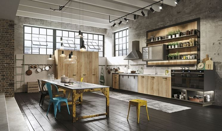 cucina industrial style | ...giving home to a soul... | pinterest ... - Cucine Stile Industriale Vintage