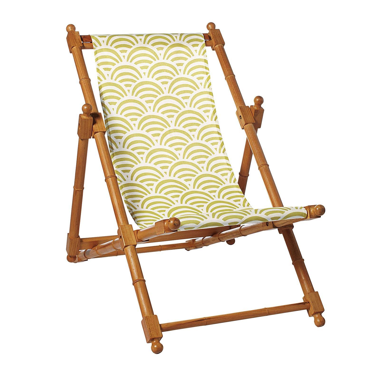 Best Citrine Soleil Sling Chair Serena Lily Outdoor 400 x 300