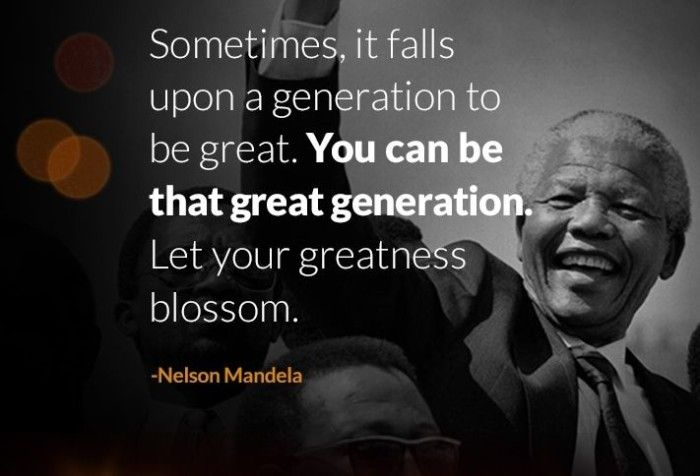 Inspirational Words By Nelson Mandela Nelsonmandela Like