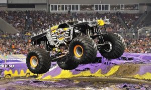 Groupon Tickets To Monster Jam Monster Truck Show At DCU Center Or - Dcu center car show