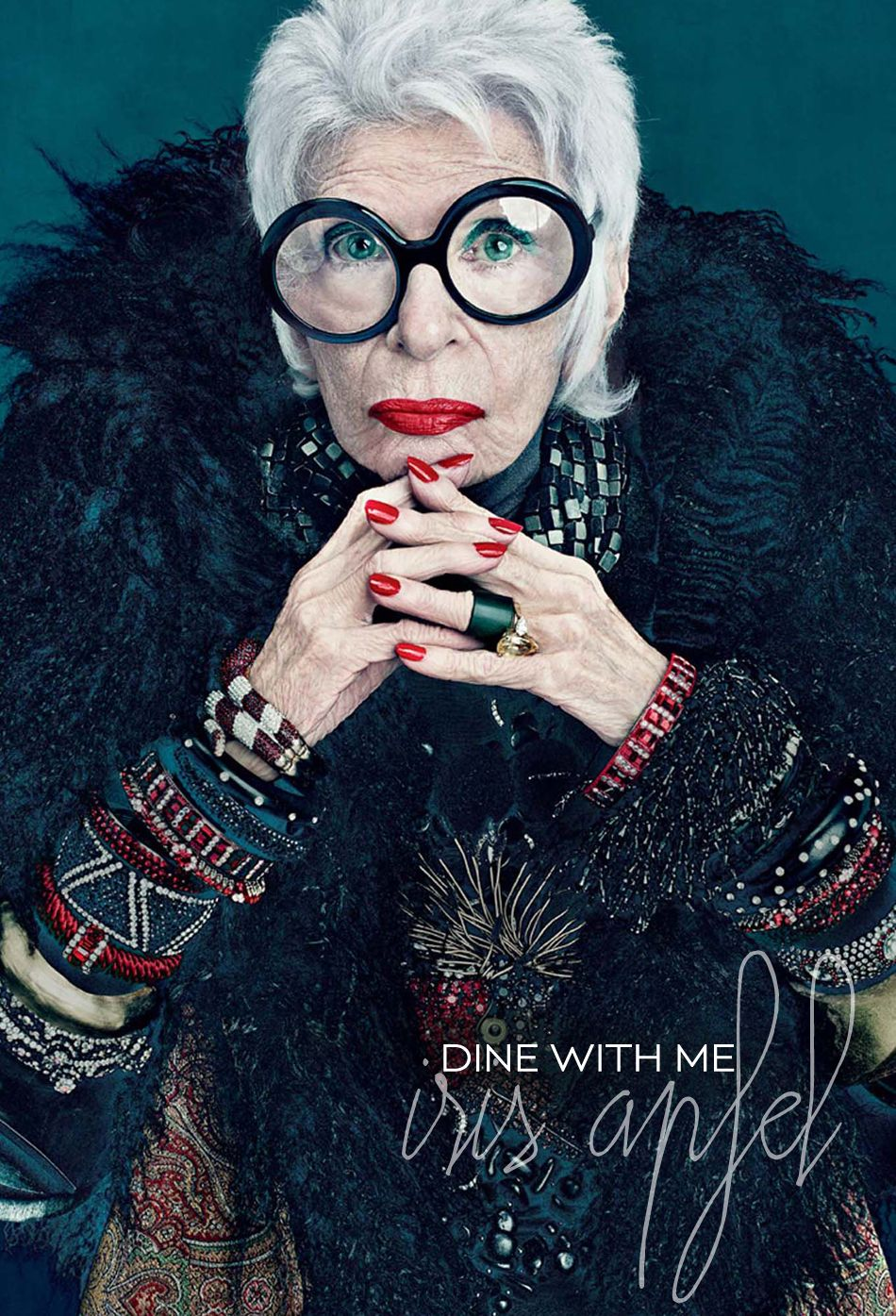 Dine With Me: Iris Apfel - Dine X Design