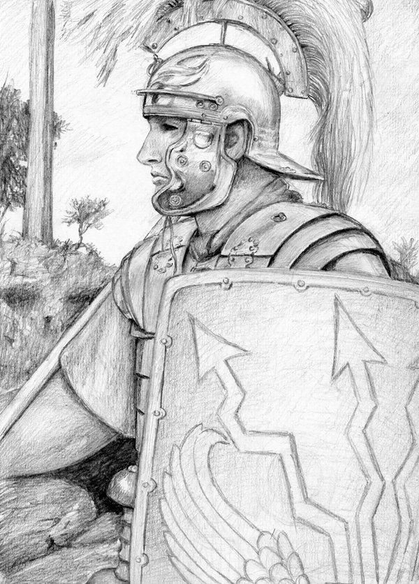 Roman Soldier By Dashinvaine.deviantart.com On @DeviantArt