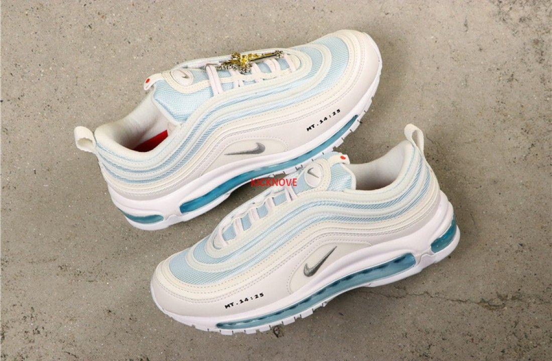 Nike Air Max 97 MSCHF x INRI Jesus Shoes 921826 101JSUS in