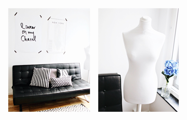 Svart Pantern bäddsoffa med krom ben. Silver, krom, futon, konstläder, skinn, djuphäftad, vardagsrum, sovrum, möbler, inredning. http://sweef.se/soffor/60-pantern-baddsoffa-futon.html