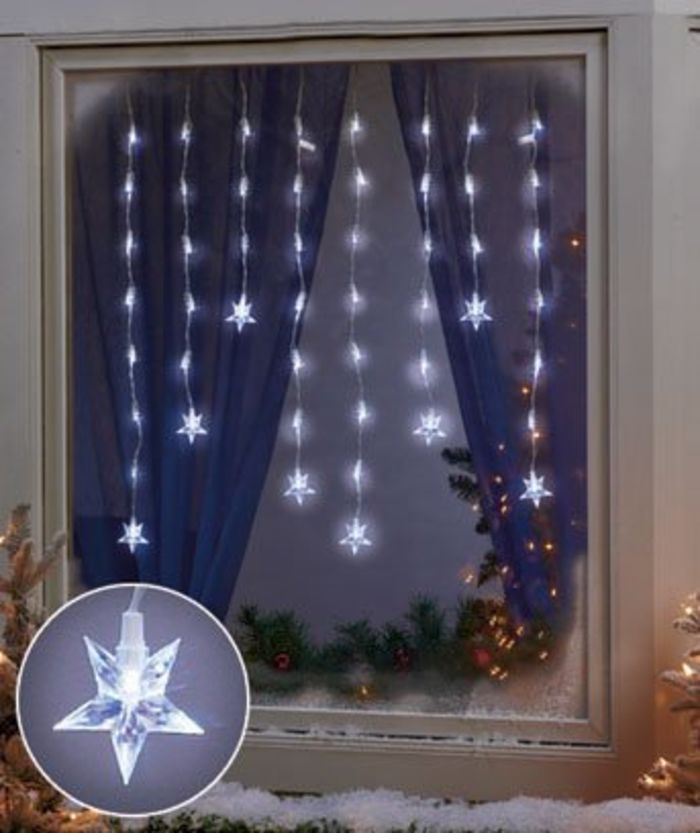 best christmas window decorations ideas led star window icicle lights for christmas window decoration - Led Christmas Window Decorations