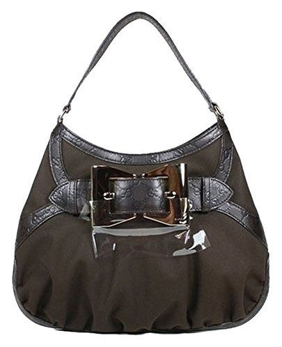 Gucci Handbags Brown Fabric And Leather 279158 Purse Clearance The Social Travel Experience