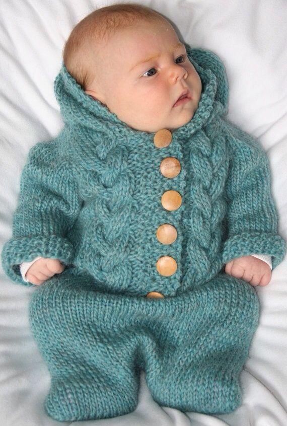 Pin de Sue Leahy en Knitting: Babies en 2018   Pinterest   Tejido ...