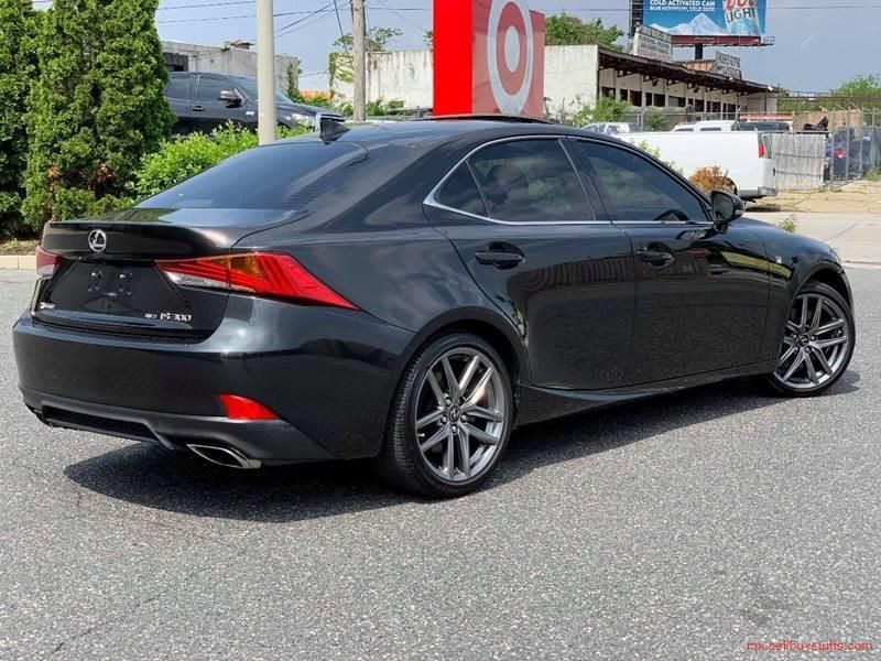 second hand/new 2017 Lexus IS300 AWD FSport for sale