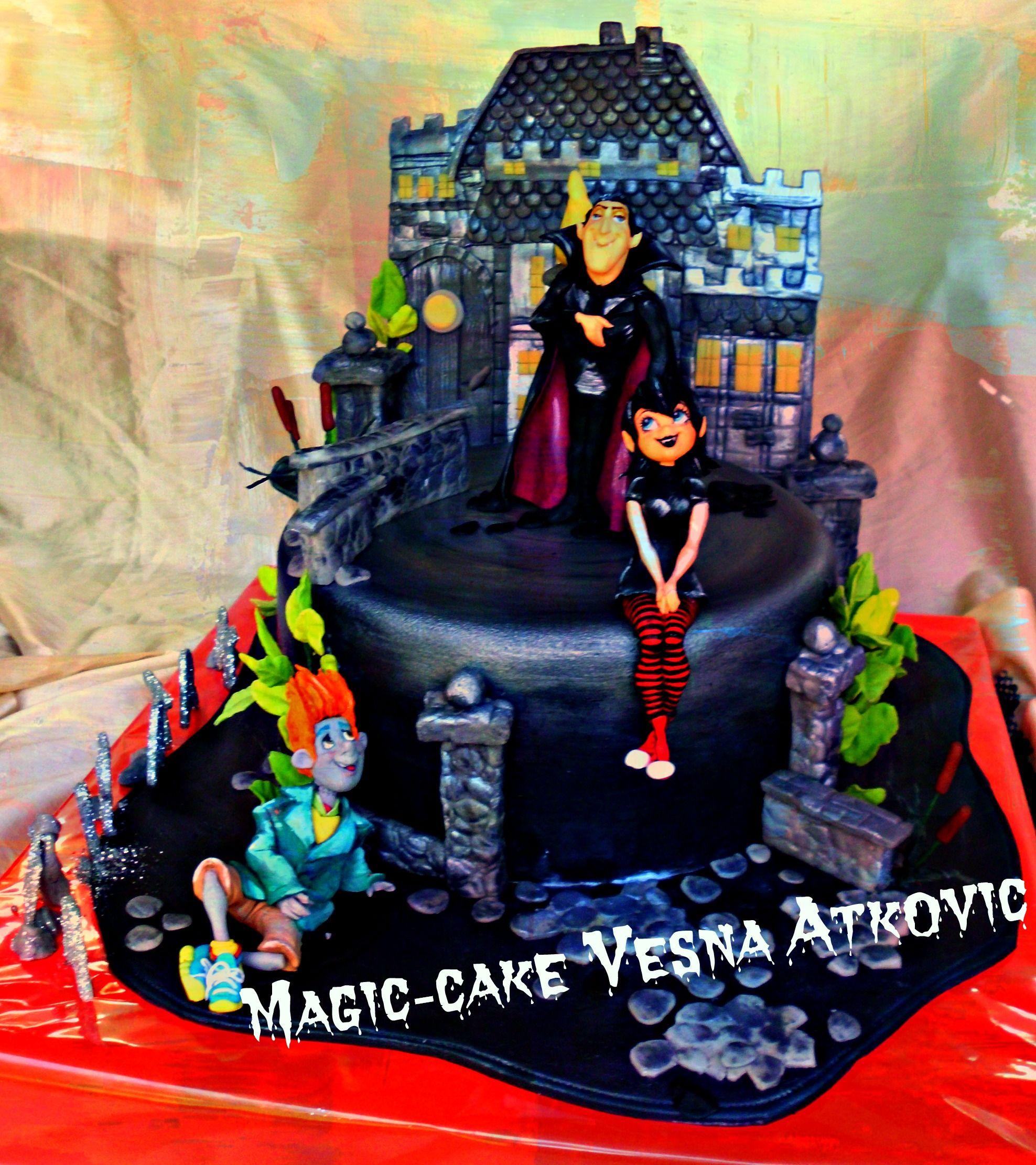Hotel Transylvania 1 Cake Children